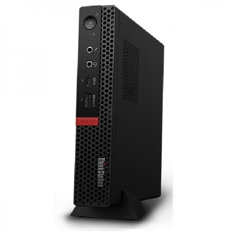 ПК Lenovo ThinkStation P330 tiny i7 8700T (2.4)/16Gb/SSD512Gb/P1000 4Gb/Windows 10 Professional 64/GbitEth/WiFi/BT/135W/клавиатура/мышь/черный
