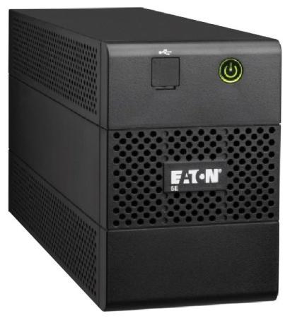 Источник бесперебойного питания Eaton 5E 850VA 480Вт 850ВА черный источник бесперебойного питания ippon innova g2 2000 black