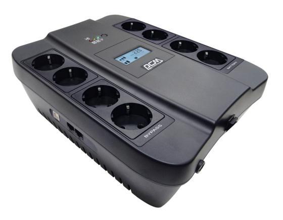 Источник бесперебойного питания Powercom Spider SPD-750U LCD 450Вт 750ВА черный