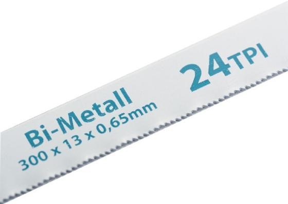 Полотна для ножовки по металлу, 300 мм, 24TPI, BIM, 2 шт.// Gross полотна для ножовки по металлу 300 мм шаг 1 мм 2 шт сибртех