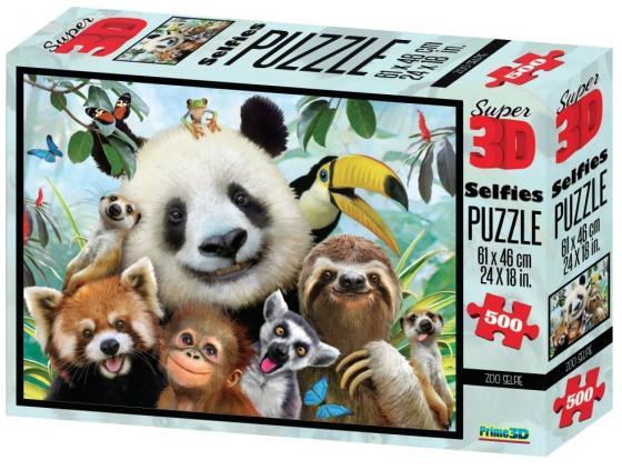 Пазл 3D 500 элементов best toys Зоо селфи пазл 6 элементов best toys животные