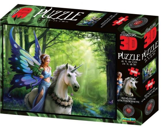 Пазл 3D 500 элементов best toys Царство очарования пазл 6 элементов best toys животные