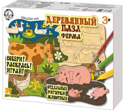 Пазл 37 элементов best toys Ферма пазл 6 элементов best toys животные