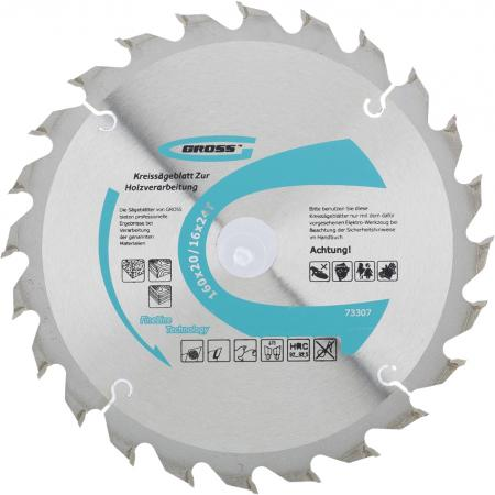 Пильный диск по дереву 160 x 20/16 x 24Т // Gross пильный диск по дереву 230 x 32 30 x 24т gross