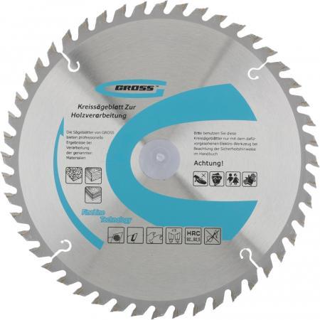 Пильный диск по дереву 255 x 32/30 x 72Т // Gross пильный диск по дереву 230 x 32 30 x 24т gross