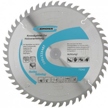 Пильный диск по дереву 300 x 32 x 48Т // Gross пильный диск по дереву 230 x 32 30 x 24т gross
