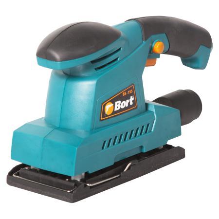 Вибро шлифовальная машина Bort BS-155 150Вт плоскошлифовальная машина bort bs 300 r