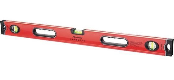 Уровень алюминиевый, 600 мм, 3 глазка, ударопрочные заглушки, двухкомпонентные ручки// Matrix уровень брусковый 3 глаз matrix 34201 60 см
