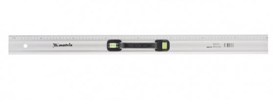 Линейка-уровень, 800 мм, металлическая, пластмассовая ручка 2 глазка// Matrix линейка уровень 1000 мм металлическая пластмассовая ручка 2 глазка matrix master 30577