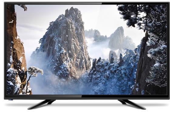 "лучшая цена Телевизор LED 24"" Erisson 24LEK85T2 черный 1366x768 50 Гц HDMI USB VGA SCART"