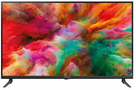 """Телевизор LED 40"""" Hyundai H-LED40ET3000 серебристый черный 1920x1080 60 Гц USB цена и фото"""