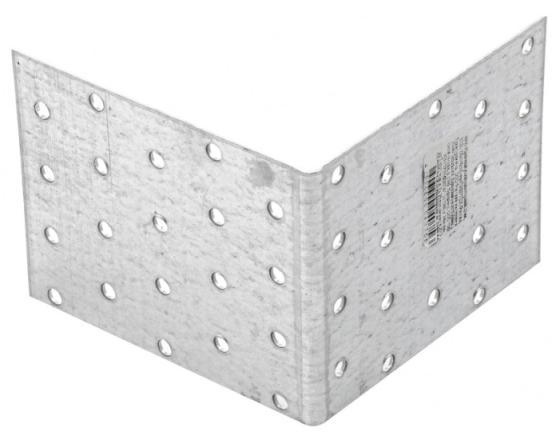 Фото - Крепежный уголок равносторонний 2,0 мм, KUR 100x100x80 мм, Россия// Сибртех уголок крепежный сибртех равносторонний 2 мм 40x40x80 мм