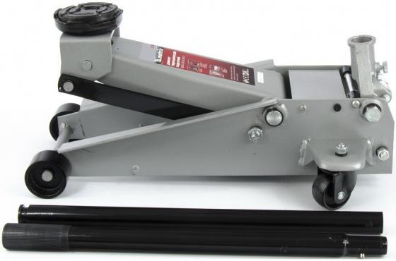 Домкрат гидравлический подкатной, быстрый подъем, 3т Quick Lift, 130-465 мм, проф// Matrix