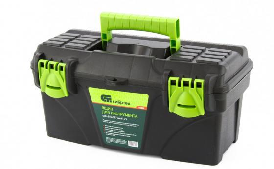 Ящик для инструмента, 410 х 215 х 197 мм (16), пластик, Россия// Сибртех ящик для инструмента fit 65500 пластиковый 13 33 х 17 5 х 12 5 см