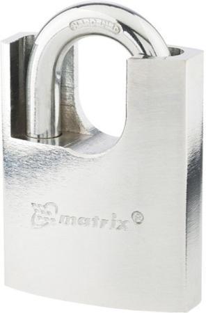 Фото - Замок навесной, защищенная дужка 60 мм// Matrix замок навесной защищенная дужка 60 мм matrix