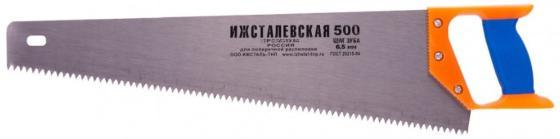 Ножовка по дереву, 500 мм, шаг зубьев 6,5 мм, пластиковая рукоятка (Ижевск) </div> <div class=