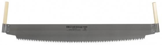 Пила двуручная, 1000 мм, деревянные рукоятки (Ижевск) </div> <div class=