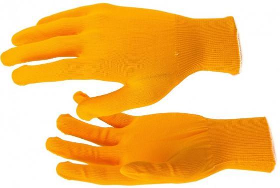 Перчатки нейлон, 13 класс, оранжевые, XL// Россия