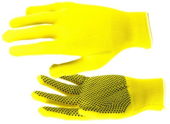 Перчатки нейлон, ПВХ точка, 13 класс, цвет