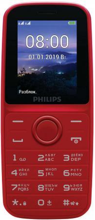 Мобильный телефон Philips E109 красный стоимость