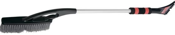 Щетка-сметка для снега со скребком, автомобильная, 850 мм </div> <div class=