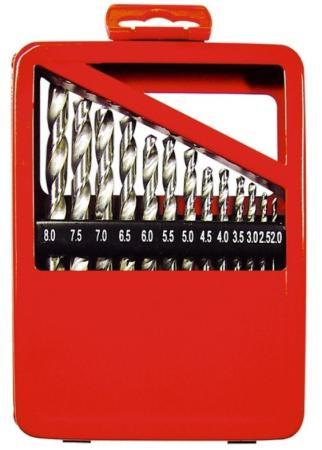 Фото - Набор сверл по металлу, 1-10 мм (через 0,5 мм), HSS, 19 шт., метал. коробка цил. хвостовик// Matrix набор сверл по металлу 1 10 мм через 0 5 мм hss 19 шт пластик коробка цил хвостовик сибртех
