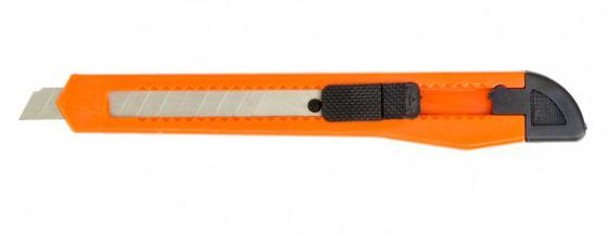 Фото - Нож,9 мм, выдвижное лезвие// Sparta нож складной 200 мм загнутое лезвие деревянная ручка sparta