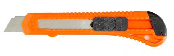 Фото - Нож,18 мм, выдвижное лезвие// Sparta нож складной 200 мм загнутое лезвие деревянная ручка sparta
