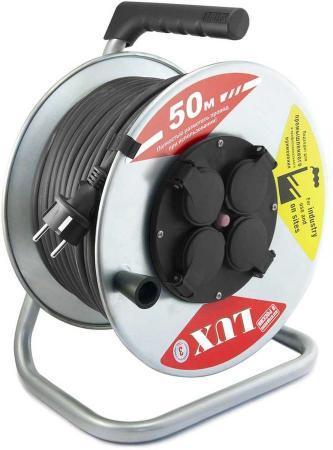 Удлинитель Lux К4-Е-50 4 розетки 50 м
