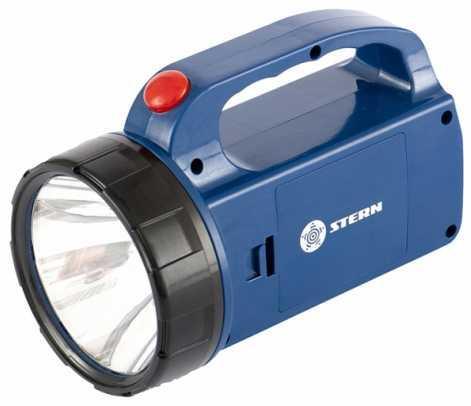 Фонарь поисковый, 1+12 LED, 3хАА// Stern