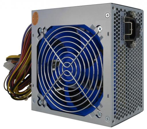 Блок питания CROWN CM-PS500office (20+4in, 120mm FAN, SATA*2, PATA(big Molex)*3, FDD*1, 4+4pin, Lines 1x12V кабель 1.2м OEM, скоба)