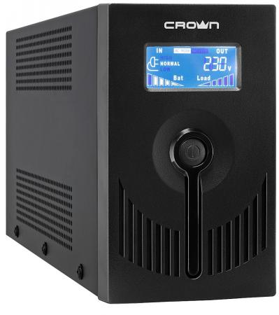 ИБП Crown CMU-SP650 IEC LCD USB 650VA
