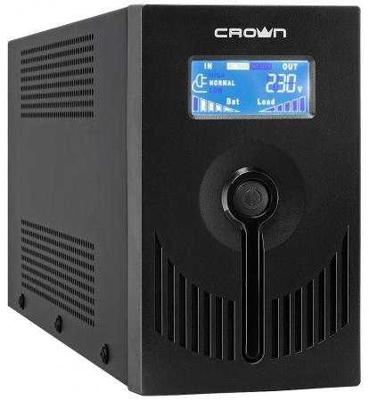 ИБП Crown CMU-SP650 EURO USB LCD 650VA