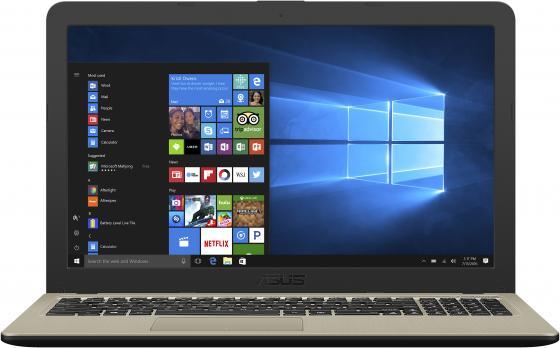 """Ноутбук ASUS X540BA-GQ001T 15.6"""" 1366x768 AMD E-E2-9000 500 Gb 4Gb Wi-Fi AMD Radeon R2 серый Windows 10 Home ноутбук prestigio smartbook psb116a01bfw 11 32 gb wi fi blue"""