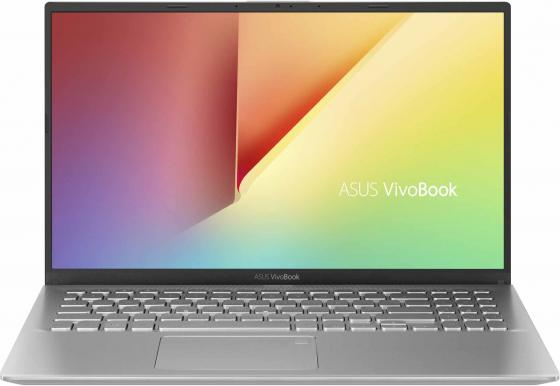 Ноутбук ASUS X512UB-BQ128T 15.6 1920x1080 Intel Core i3-7020U 1 Tb 6Gb Wi-Fi Intel HD Graphics 620 nVidia GeForce MX110 2048 Мб серебристый Windows 10 Home