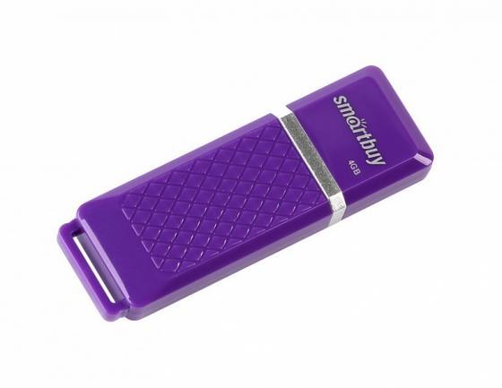 Внешний накопитель 4Gb USB Drive <USB2.0> Smartbuy Quartz series Violet (SB4GBQZ-V) стоимость