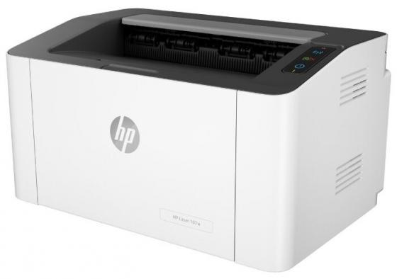 Принтер HP Laser 107w <4ZB78A> A4, 20стр/мин, 64Мб, USB, WiFi (замена SS272C Samsung SL-M2020W) принтер samsung sl m2830dw