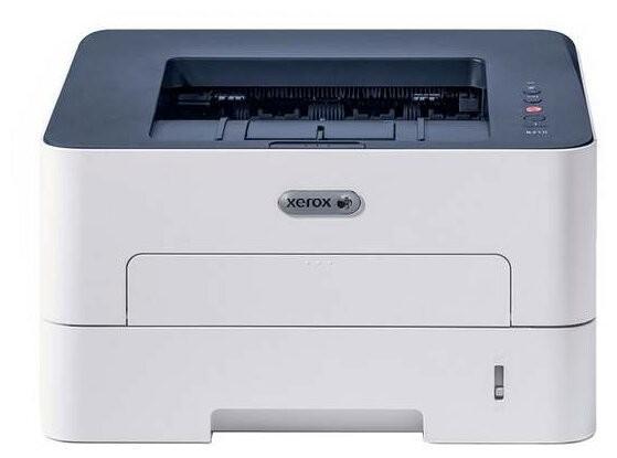 Фото - Принтер Xerox Phaser B210 (A4, 30 стр/мин, 30K стр/мес, USB, Ethernet, лоток 250 листов) - замена для Xerox 3260V_DNI лоток для бумаг базис вертикальный черный лт32