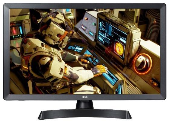 """Телевизор LED 24"""" LG 24TL510S-PZ черный 1366x768 50 Гц Wi-Fi Smart TV RJ-45 WiDi 24TL510S-PZ.ARUB стоимость"""