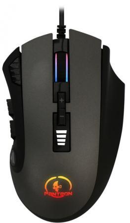 Проводная профессиональная игровая программируемая мышь Jet.A Panteon PS90 (800-5000dpi,12к,LED,USB) стенка валерия 12к
