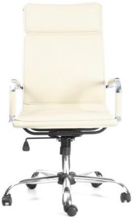 Кресло руководителя Recardo Select бежевый/Эко кожа/крестовина ХРОМ 700мм/высота спинки 635мм/ширина 450мм/Механизм качания DMS олимпийка playtoday размер 146 темно синий
