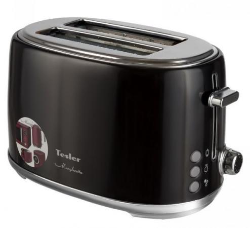 Тостер TESLER TT-255 чёрный цена и фото