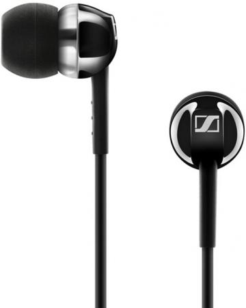 лучшая цена Наушники Sennheiser CX 100 Black Проводные / Внутриканальные без микрофона / 17 - 20000 Гц / 119 дБ / Двустороннее / miniJack 3.5 мм