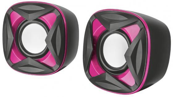 лучшая цена Колонки TRUST 2.0 XILO pink (8Вт,3,5mini-jack)