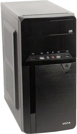 Корпус Sunpro VISTA IV, mATX, 450Вт, 4*USB2.0 , ДхШхВ: 365*175*365мм, мат.плата до 24.4*20.5см, 20+4-Pin, 4-Pin, 3*SATA, 2*MOLEX, FDD sunpro vista 3 450w white