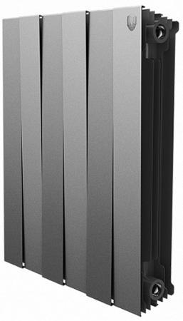 цена на Радиатор Royal Thermo PianoForte 500 new/Silver Satin - 4 секц.
