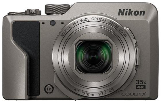 Фото - Фотоаппарат Nikon Coolpix A1000 Silver <16.0Mp, 35x zoom, 4K, SD, USB, 3.0> фотоаппарат