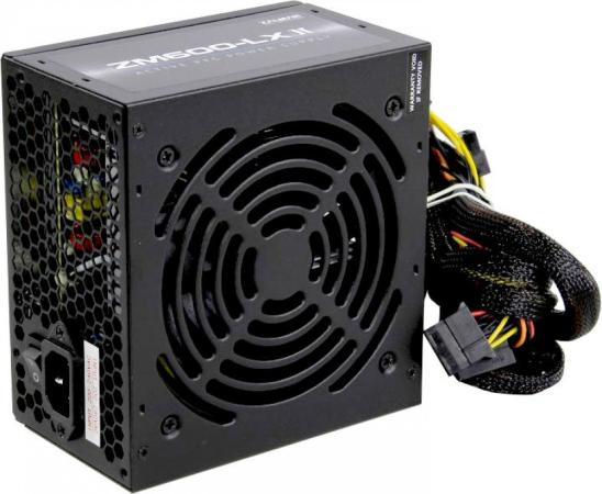 Блок питания Zalman ZM600-LXII <600W, (20+4+4+4) pin, 2x(6+2) pin, 6xSATA, 3xMolex, 12 см, кабель питания, 84%, Active P