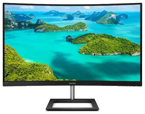 цена на МОНИТОР 32 PHILIPS 322E1C/00 Black (VA, изогнутый, 1920x1080, 75Hz, 4 ms, 178°/178°, 250 cd/m, 3000:1, +HDMI 1.4, +DP))