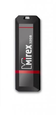 Фото - Флеш накопитель 32GB Mirex Knight, USB 2.0, Черный usb флеш накопитель perfeo 4gb c04 красный